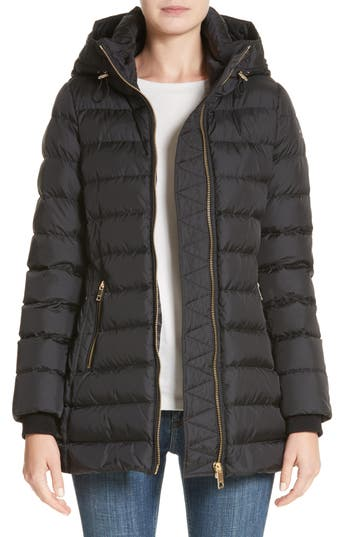 Women's Burberry Limefield Hooded Puffer Coat at NORDSTROM.com
