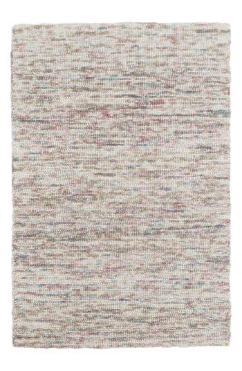 Dash & Albert Artisanal Hooked Wool Rug, Size Swatch - Blue