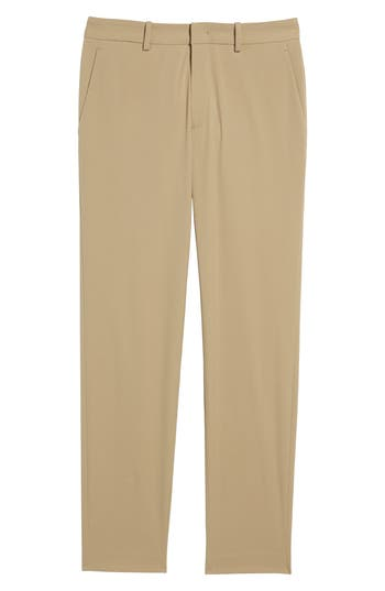 Theory Peterson Neoteric Tech Chino Pants, Beige