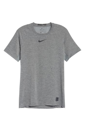 Nike Pro Fitted T-Shirt, Grey