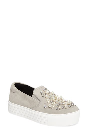 Kenneth Cole New York Ashby Pearl Slip-On Sneaker, Grey