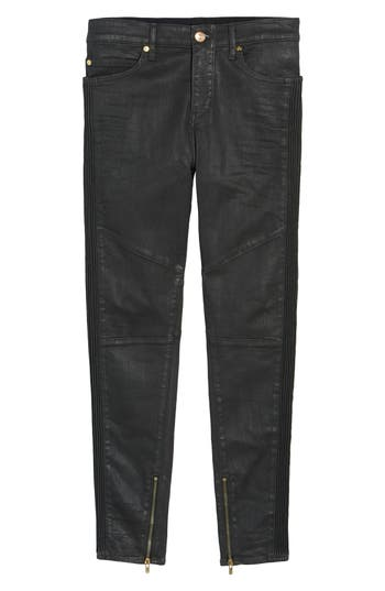 True Religion Brand Jeans Racer Skinny Fit Jeans, Black