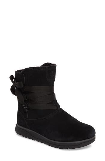 Timberland Leighland Waterproof Boot- Black