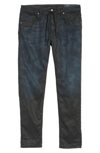 Diesel Narrot Slouchy Skinny Fit Jeans, Black