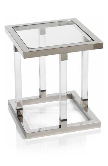 Zodax Amalfi Side Table, Size One Size - Metallic