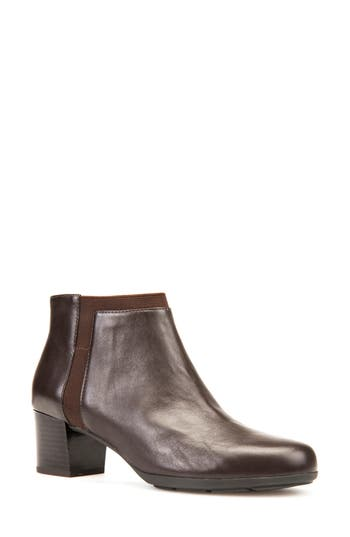 Geox Annya Bootie, Brown