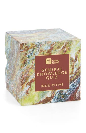 Talking Tables Inquizitive Cubes  General Knowledge Quiz Game