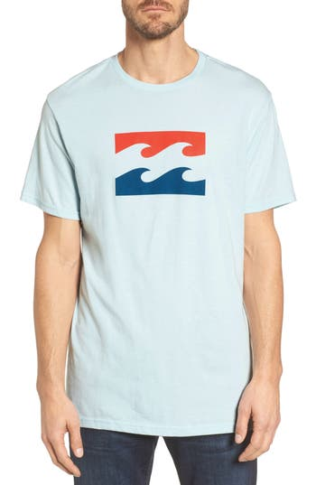Billabong Wave Graphic T-Shirt, Blue