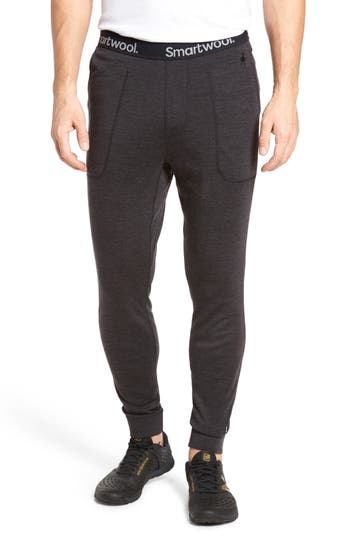 Smartwool 250 Merino Wool Jogger Pants, Grey