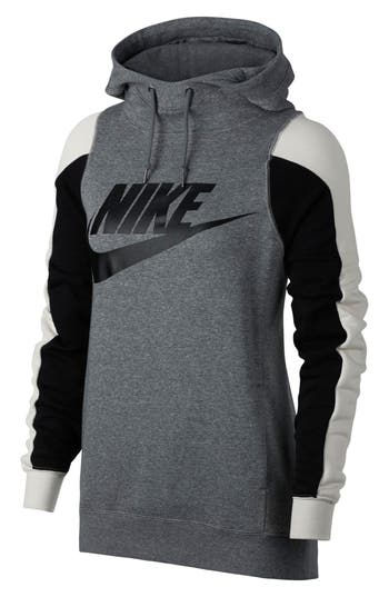 Nike Modern Pullover Hoodie, Grey