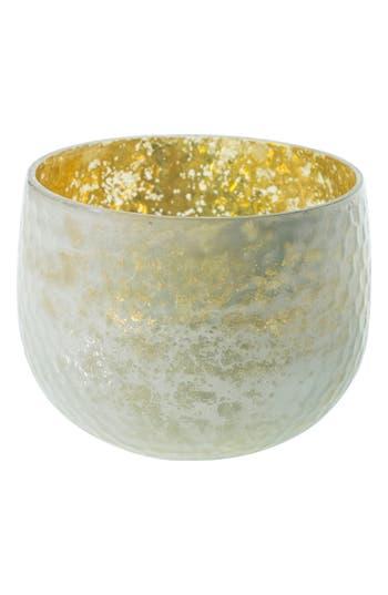 Accent Decor Radiant Mercury Glass Vase, Size One Size - White