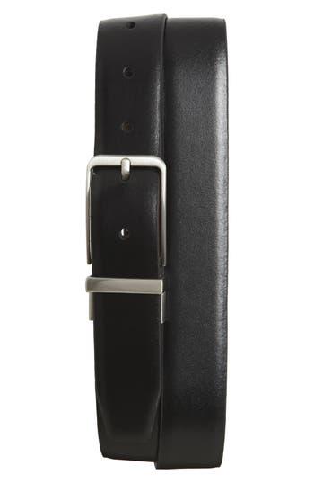 Big & Tall Nordstrom Shop Porter Reversible Leather Belt, Black/ Brown