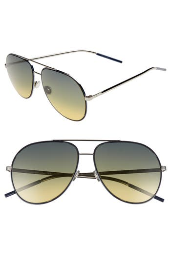 Dior Astrals 5m Aviator Sunglasses - Blue Ruthenium
