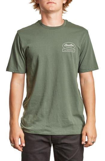 Brixton Dale Ii Premium T-Shirt, Green