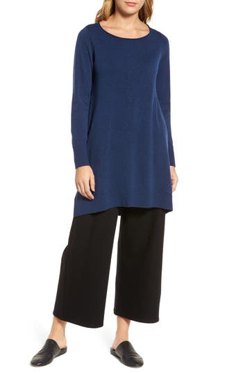 Eileen Fisher Layering Dress, Blue