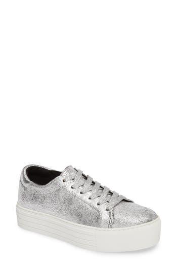 Kenneth Cole New York Abbey Platform Sneaker, Metallic