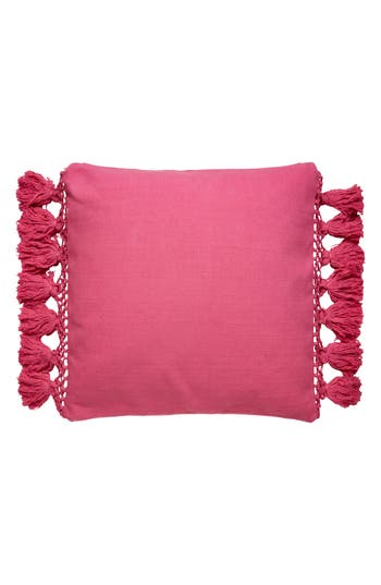 Kate Spade New York Tassel Pillow, Size One Size - Pink