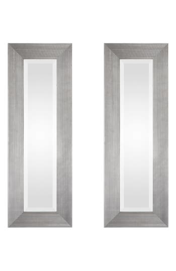 Uttermost Maldon Set Of 2 Wall Mirrors, Size One Size - Metallic