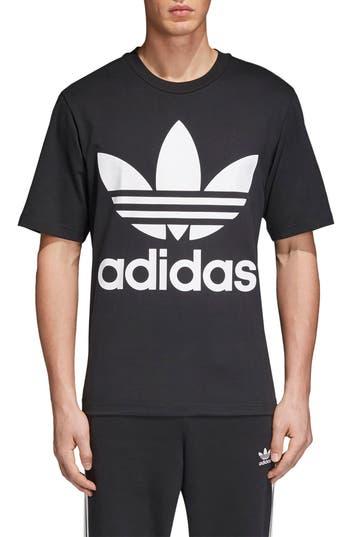 Adidas Originals Oversize Logo T-Shirt, Black