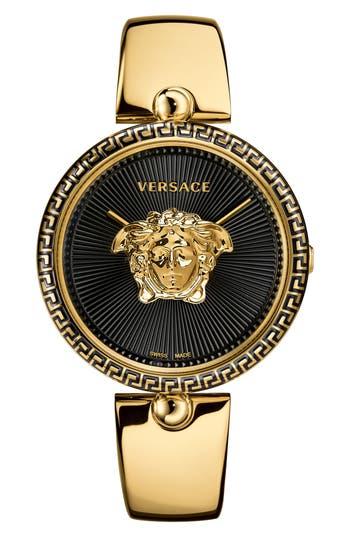 Women's Versace Palazzo Empire Semi Bangle Bracelet Watch, 39Mm