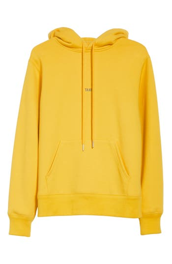 Women's Helmut Lang Taxi Cotton Hoodie, Size X-Small - Yellow