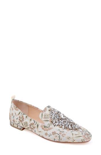 Women's Badgley Mischka Salma Crystal Embellished Loafer