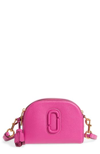 Marc Jacobs Small Shutter Leather Camera Bag - Pink
