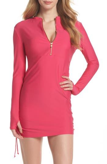 Mott 50 Sonja Upf 50 Cover-Up Swim Dress, Pink