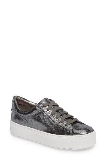 Jslides Sapphire Platform Sneaker, Metallic