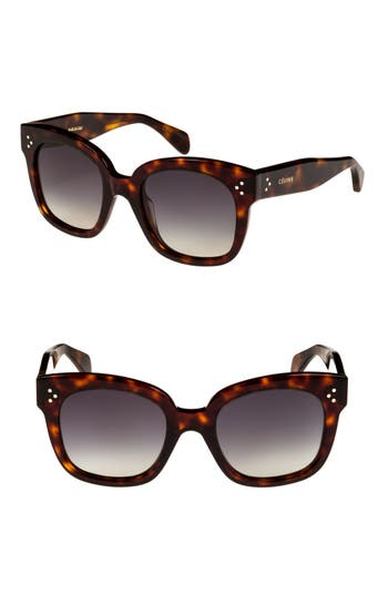 Céline 54mm Square Sunglasses