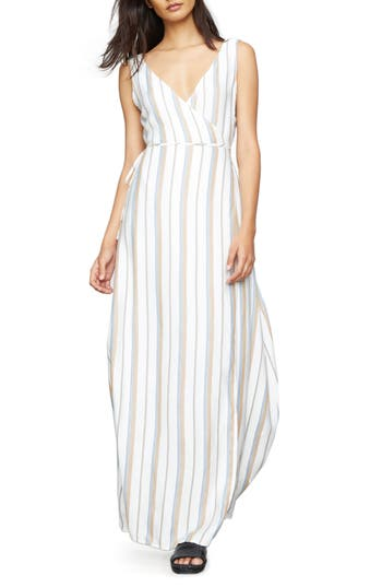 Onia Wrap Cover-Up Maxi Dress, White