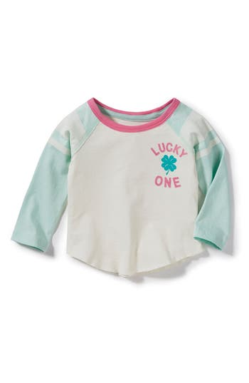 Infant Girls Peek Lucky One Graphic Tee
