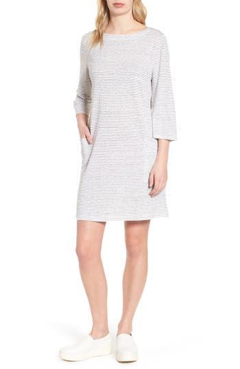 Eileen Fisher Organic Linen Shift Dress, White