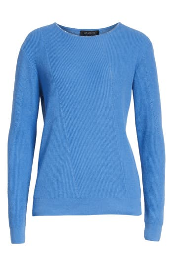 St. John Collection Cashmere Sweater, Blue