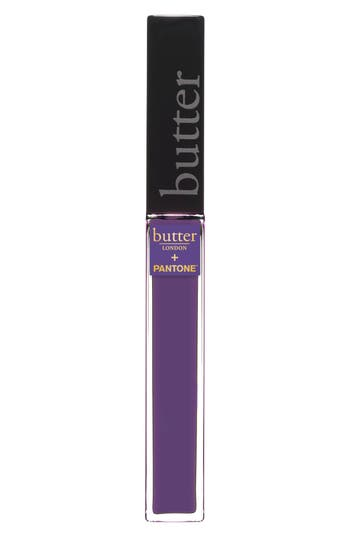 Butter London + Pantone(TM) Color Of The Year 2018 Plush Rush Lip Gloss - Ultra Violet
