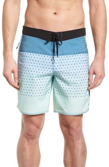 Hurley Phantom Motion Third Reef Board Shorts, Blue