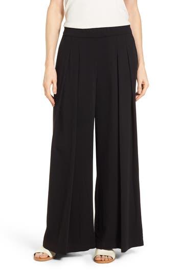 Eileen Fisher Wide Leg Pants, Black