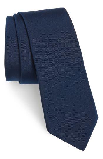 Men's Valentino Silk Tie, Size One Size - Blue