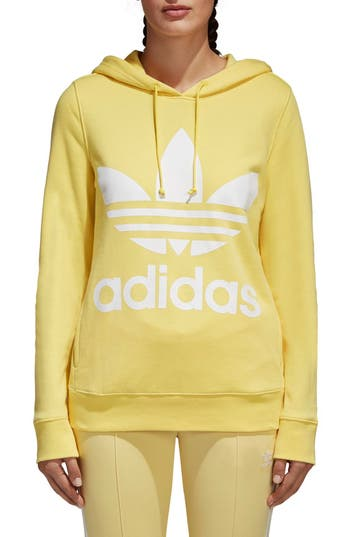 Adidas Originals Trefoil Hoodie, Yellow