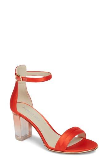 Women's Kenneth Cole New York 'Lex' Ankle Strap Sandal, Size 6 M - Orange