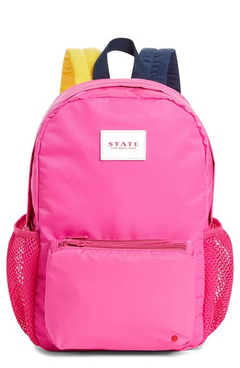 Girl's State Bags Lawrence Backpack - Pink