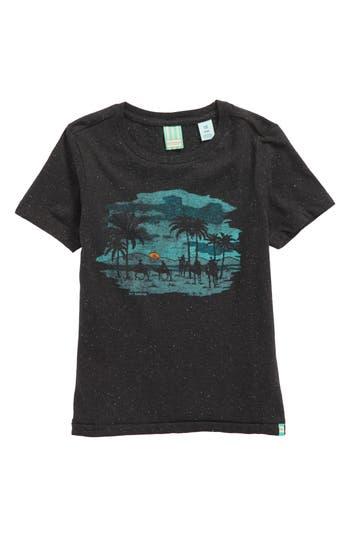 Boy's Scotch Shrunk Artwork Graphic T-Shirt, Size 8 - Black