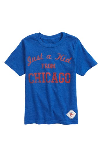 Boys 7Th Inning Stretch Just A Kid From Chicago Graphic TShirt