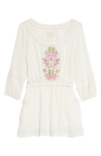 Girls ONeill Malina Floral Embroidered Dress