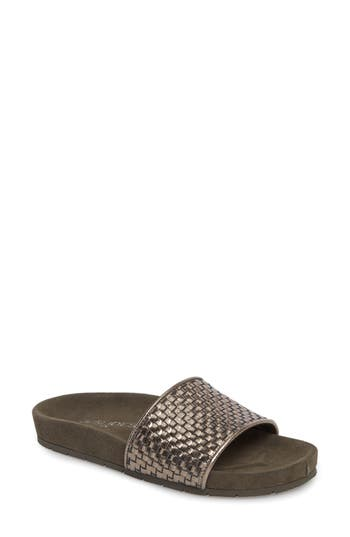 Women's Jslides Naomie Slide Sandal, Size 6.5 M - Metallic
