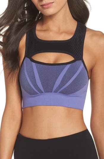 Zella Body Charge Sports Bra, Purple