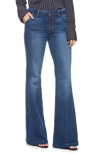 PAIGE Genevieve High Waist Flare Jeans