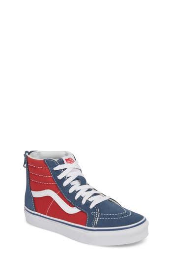Boys Vans Sk8Hi Sneaker Size 5 M  Blue