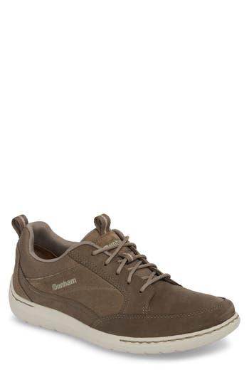 Dunham D Fit Smart Sneaker, EEEE - Beige