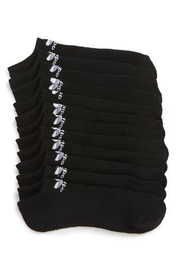 adidas Originals Trefoil 6-Pack No-Show Socks